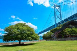 因島と大橋